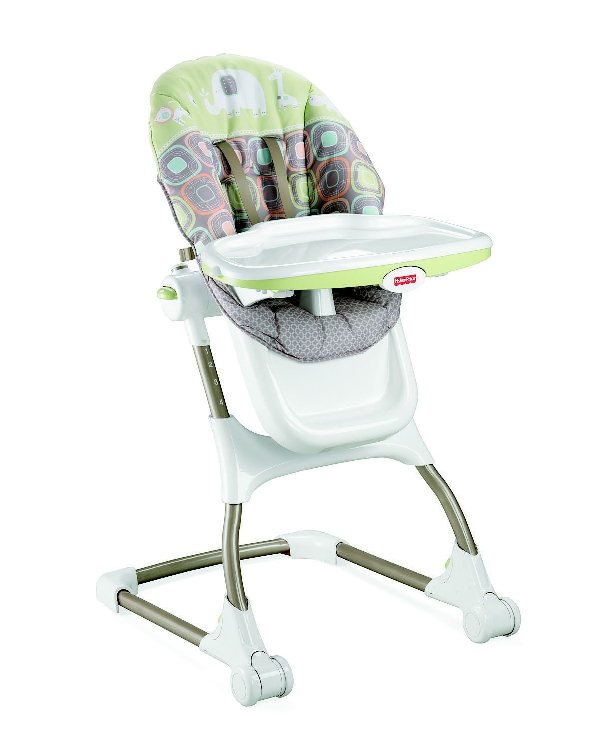 High Chair Fisher Price Fisher Price High Chair Ez Clean Green