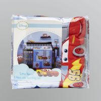 "Disney Cars ""Little Racer"" Crib Bedding Set 4 Piece"