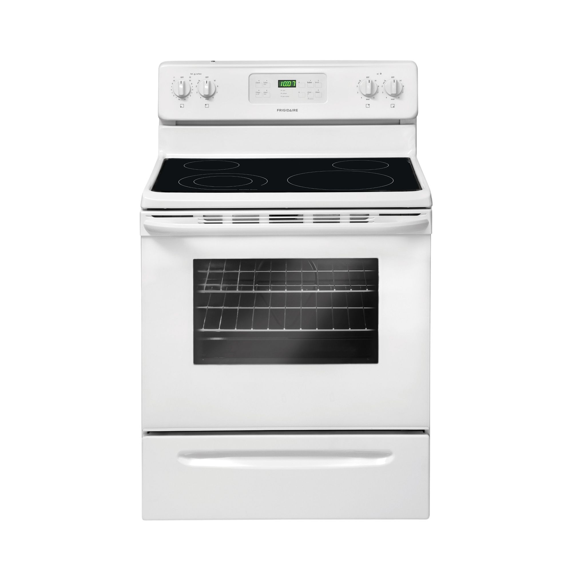 frigidaire kitchen appliances reviews wooden tools ffef3018lw 5.3 cu. ft. white electric range