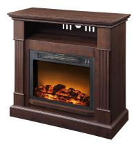 Essential Home Mahogany Fireplace - Appliances - Heating ...