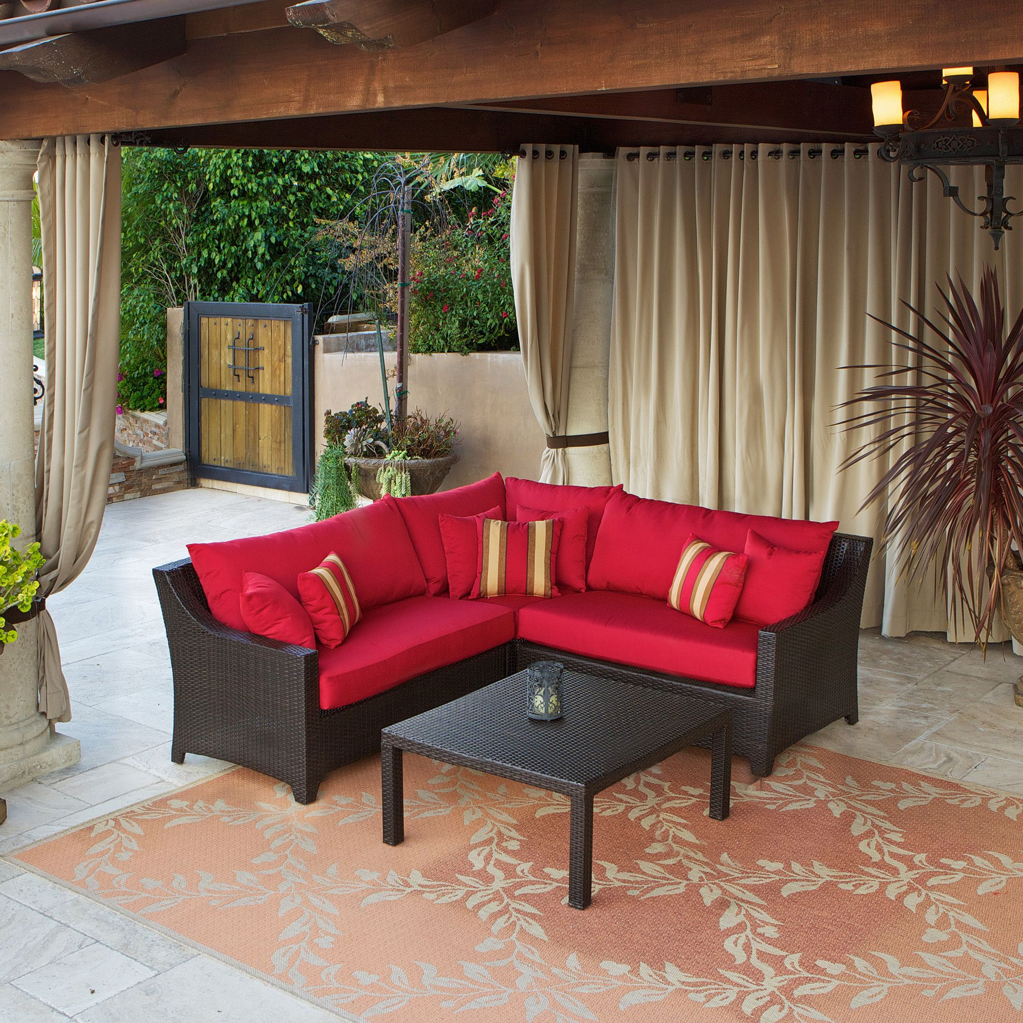 Small Outdoor Sectional Sofa Beautiful Patio