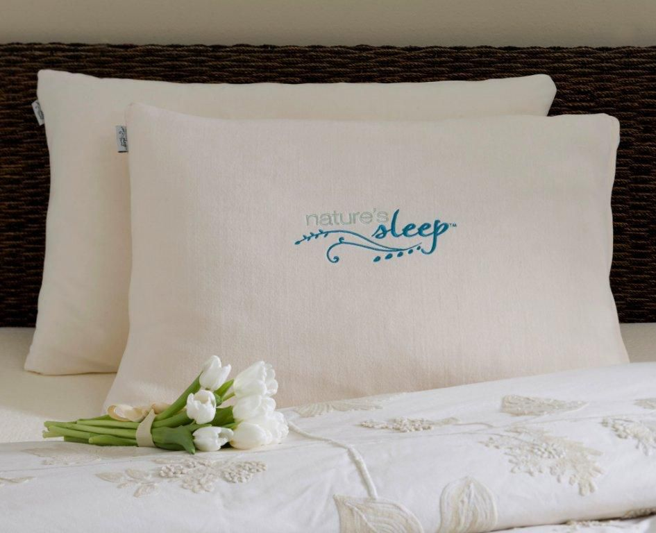 nature s sleep queen faux down plush pillow