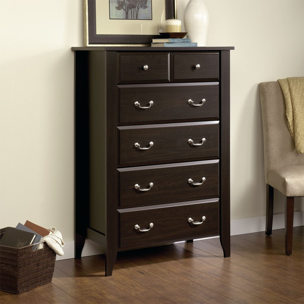 Jaclyn Smith Bedroom 5 Drawer Chest Elegance and Function from Kmart