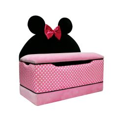 Minni Mouse Chair Zero Gravity Uk Delta Children Minnie Upholstered Icon Toybox