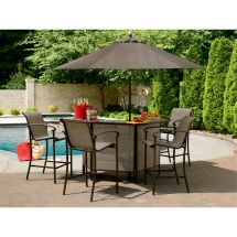 Garden Oasis East Point 5 Pc. Bar Set
