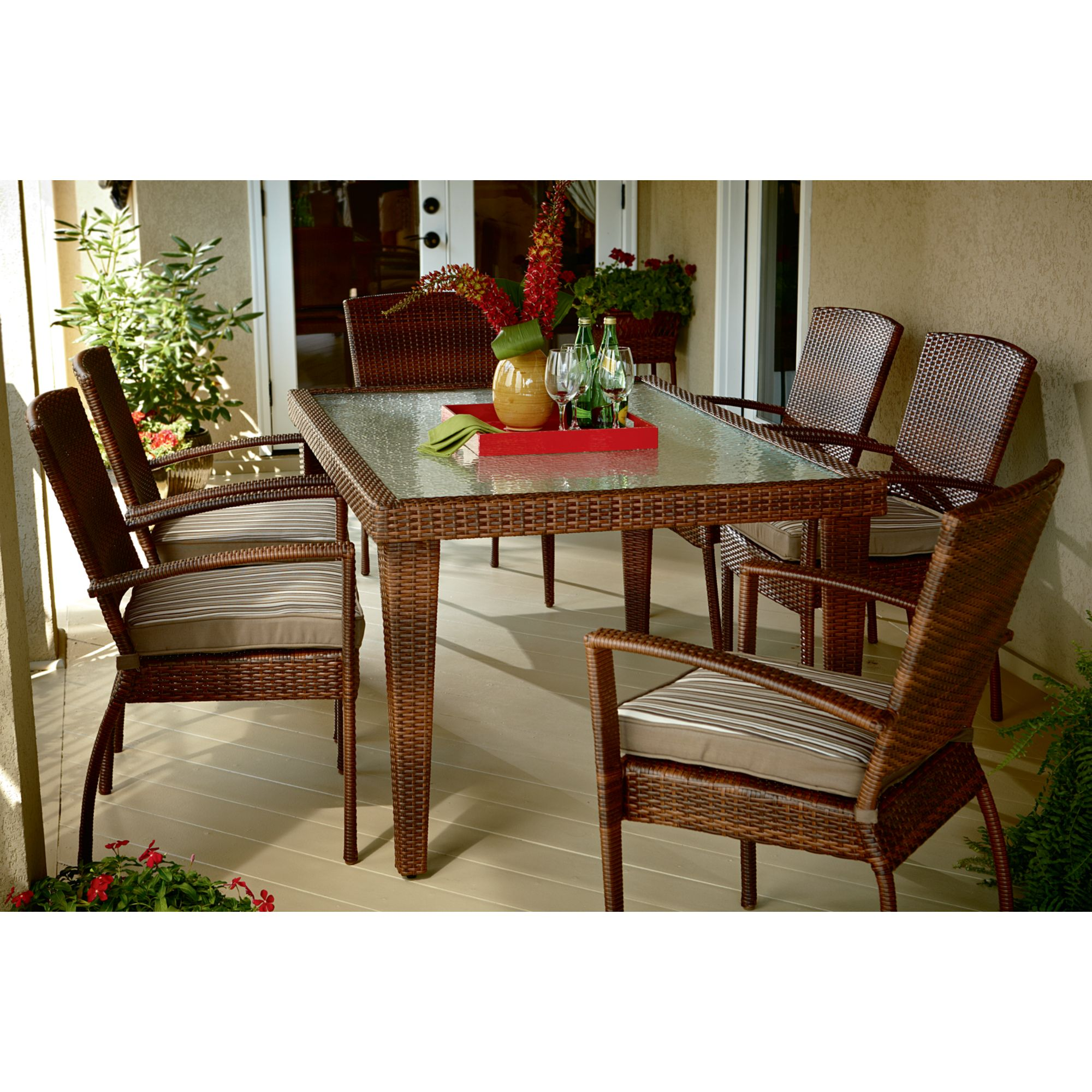 Ty Pennington Style Mayfield 7 Pc Dining Set