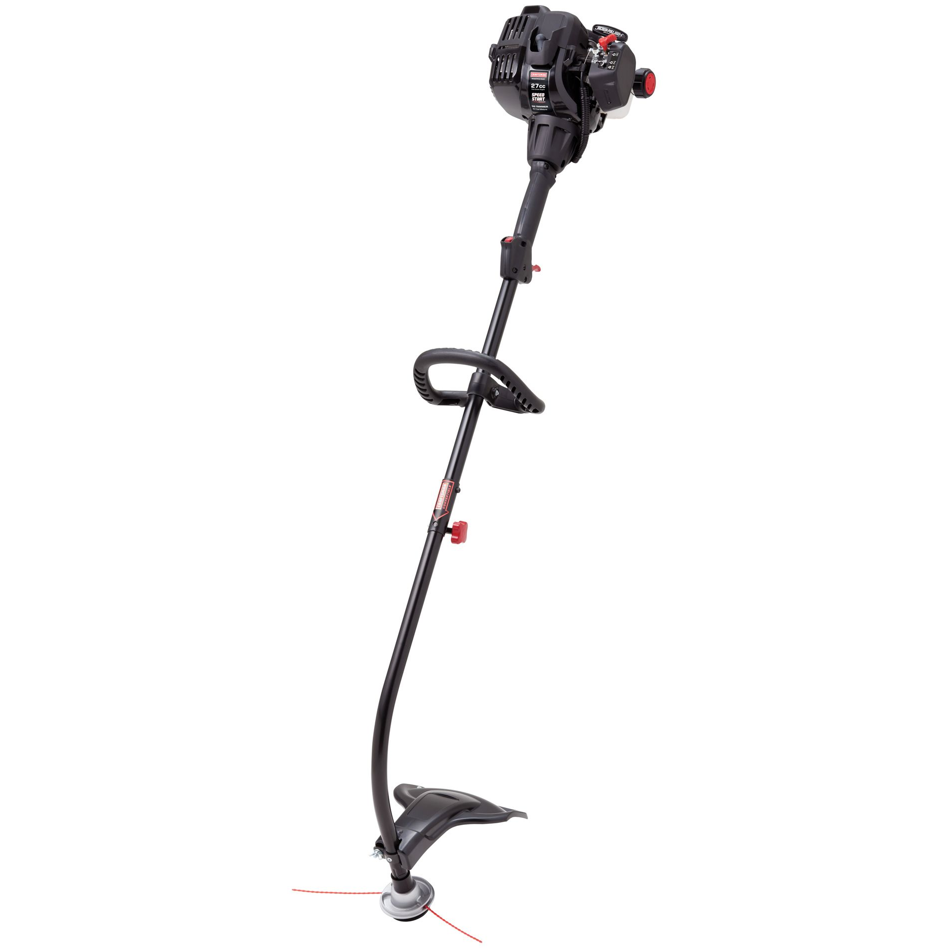 Craftsman Curved Shaft Weedwacker Trimmer: Powerful