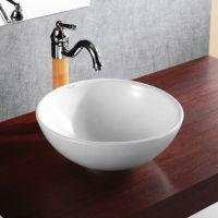 Elanti Porcelain Vessel Deep Bowl Sink 15'' - Home ...