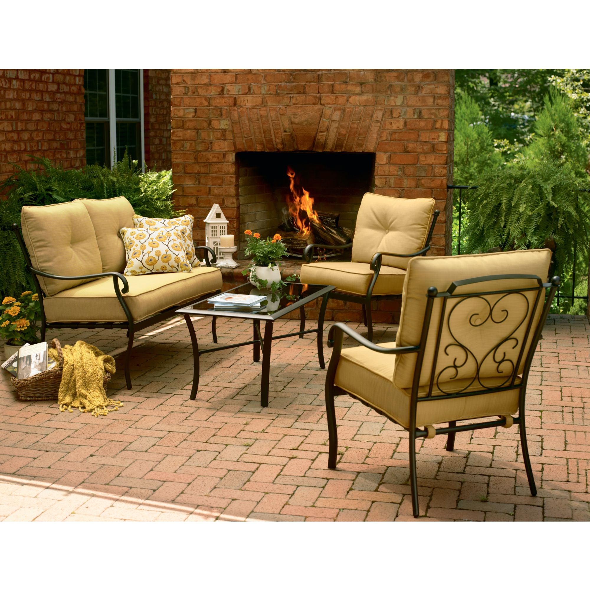 Vinton Outdoor Deep Seating Set Find Relaxation