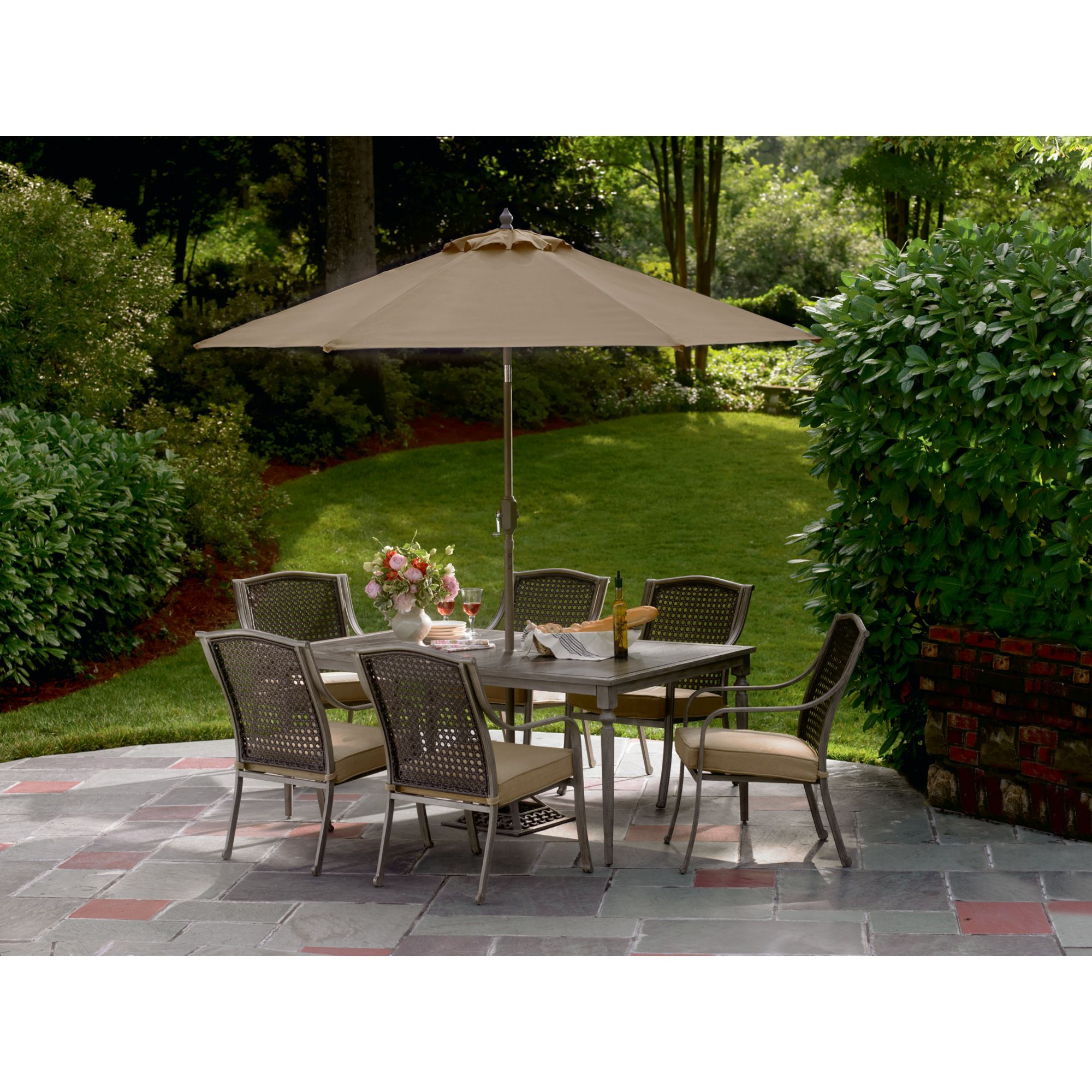 Simply Outdoors Crimora 7 Pc. Dining Set - Outdoor Living