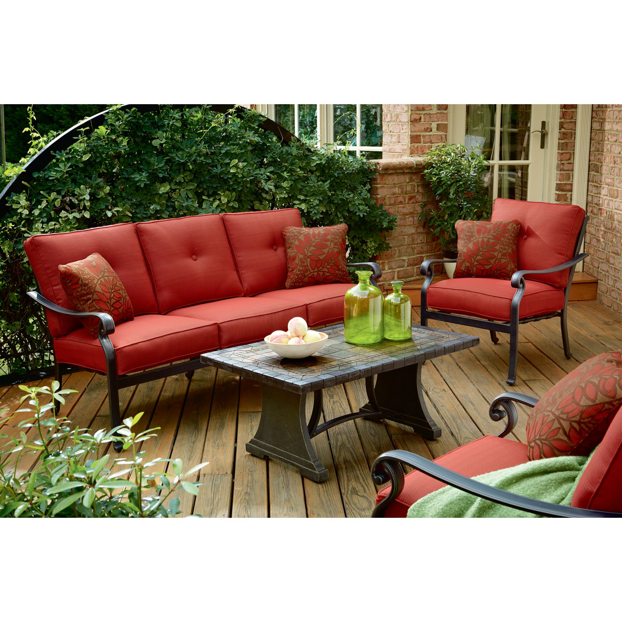 Panorama 4 Piece Patio Seating Set Enjoy Outdoors