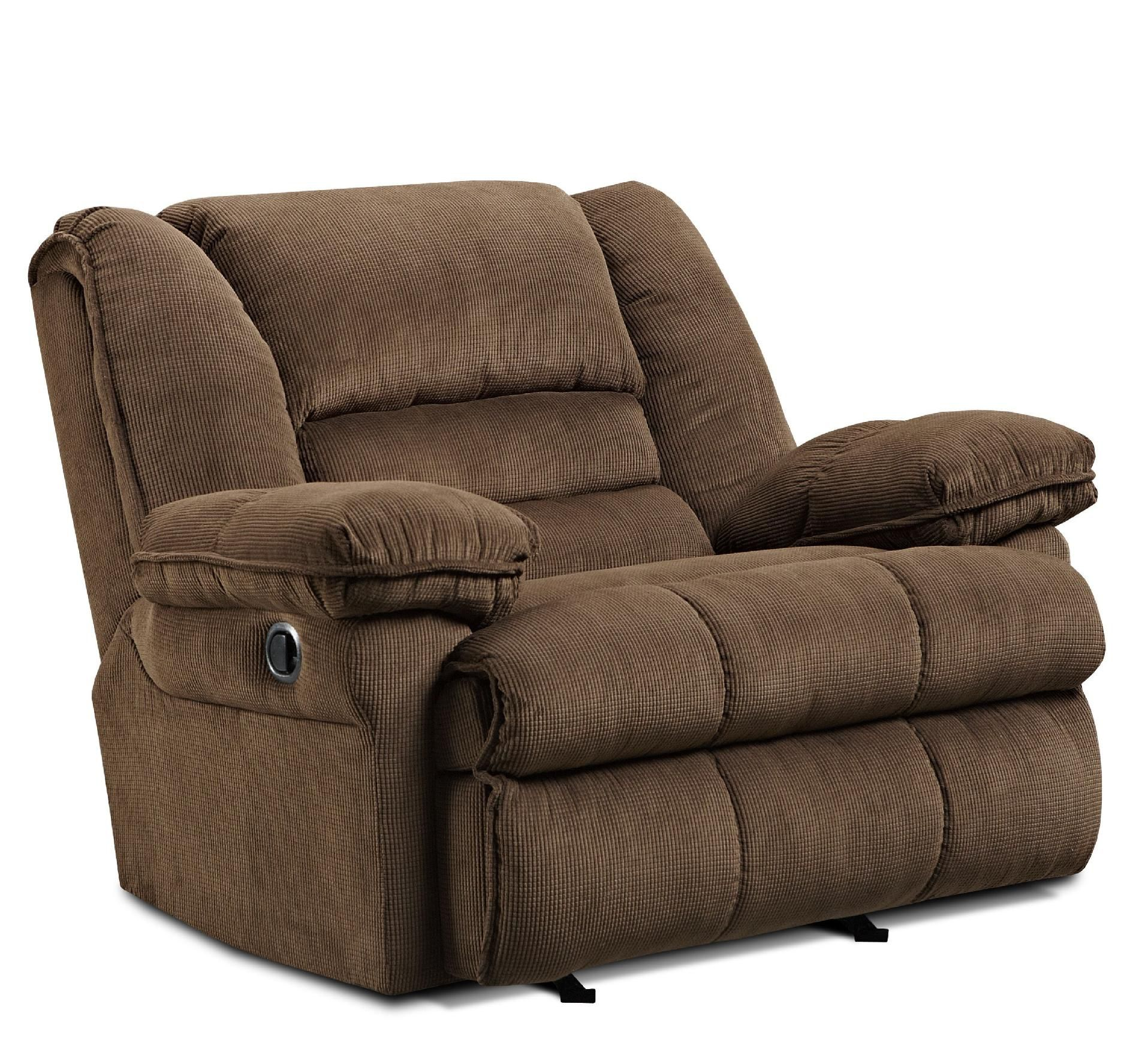 Simmons Upholstery Lancer Big Mans Recliner  Toptags