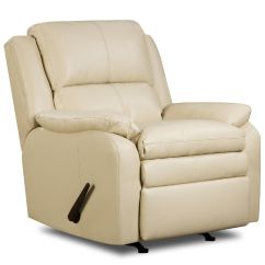 Perfect Sleep Chair Recliner Wwe Ppv Chairs Uk Simmons Upholstery Baron Leather Rocker Shop