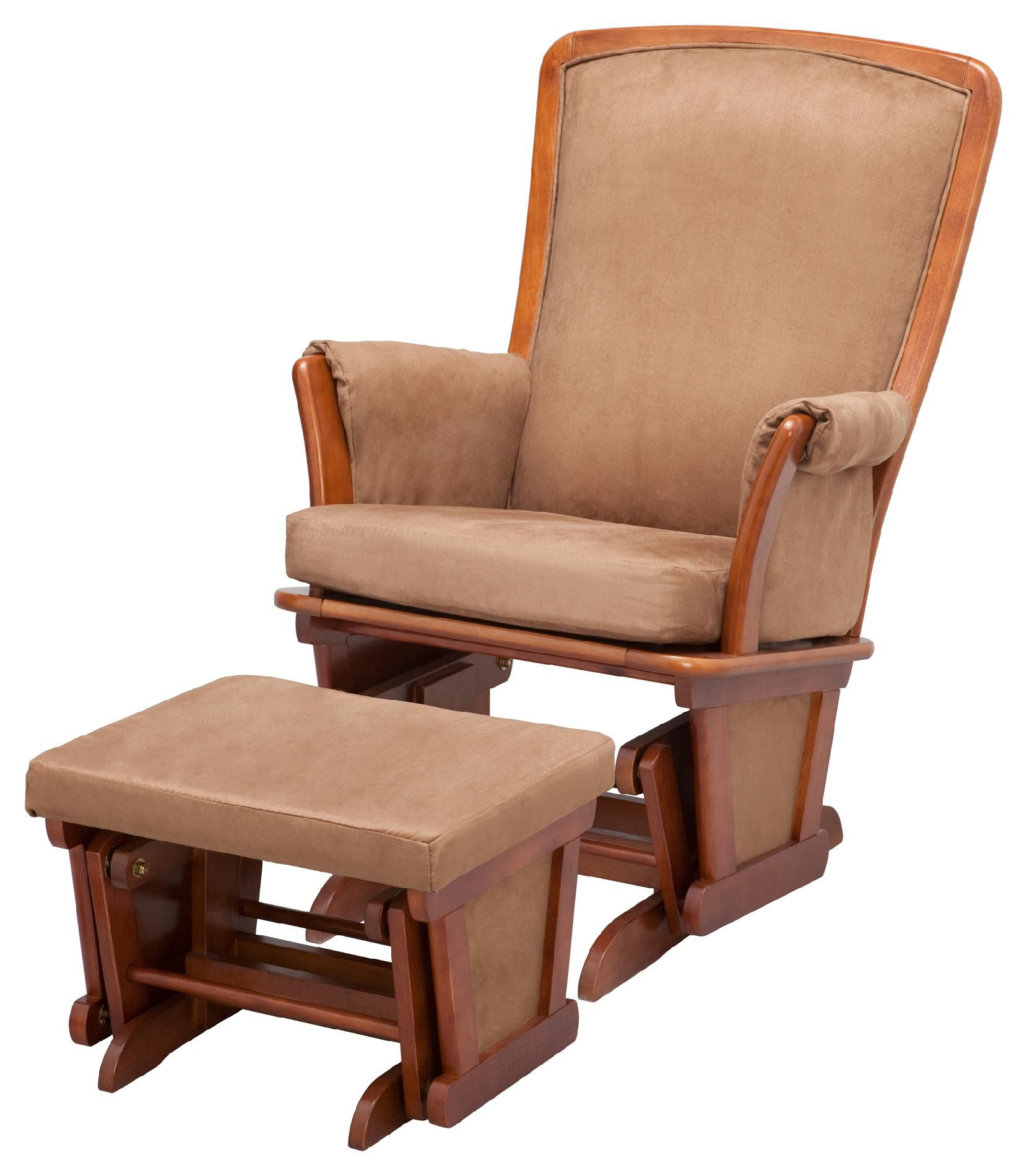 childcare glider rocker chair ottoman plastic outdoor chairs menards delta children upholstered and spice