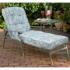 Kmart Chair Cushions Bariatric Rollator Transport Jaclyn Smith Palermo Replacement Chaise Lounge Cushion - Outdoor Living Patio Furniture ...