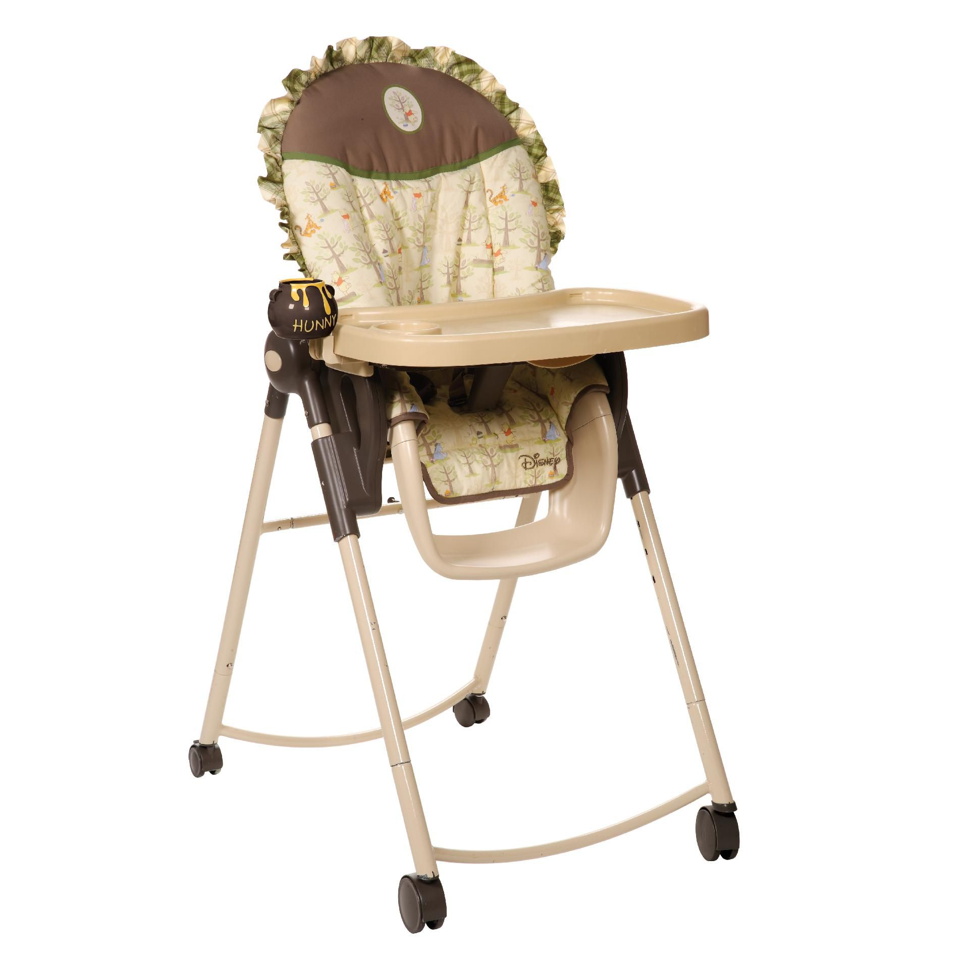 Disney Winnie the Pooh Adjustable High Chair  Picnic Place