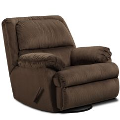 Glider Recliner Chair With Ottoman 8 Pub Table Essential Home Dunhill Swivel