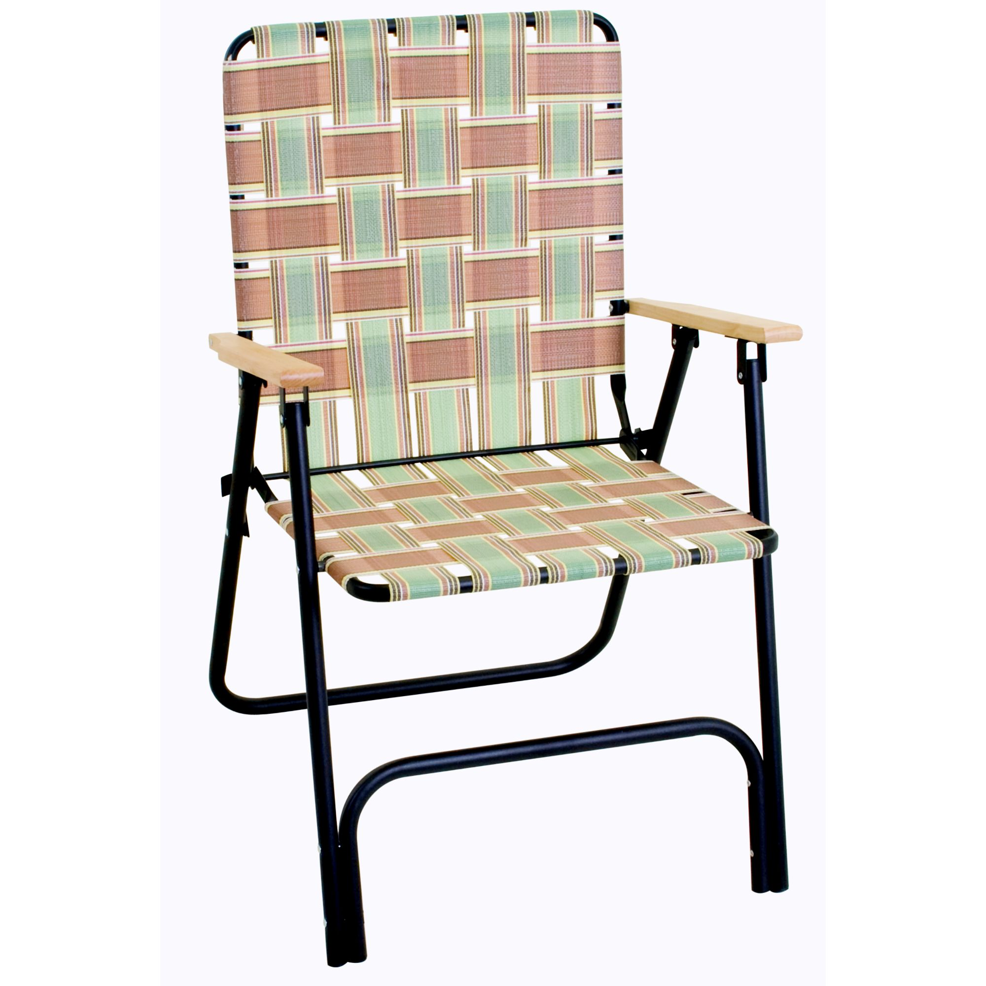 webbed folding lawn chairs ladder back rio deluxe web chair outdoor living patio furniture
