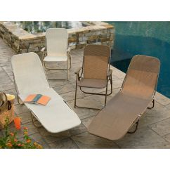 Garden Oasis Patio Chairs Ruffled Chair Covers For Sale Waffle Chaise Brown Outdoor Living