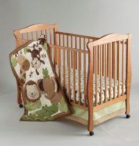 Little Bedding by NoJo 4-Piece Safari Baby Crib Set