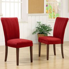 Parson Chairs Restaurant Supply Oxford Creek Dining In Cranberry Red Finish