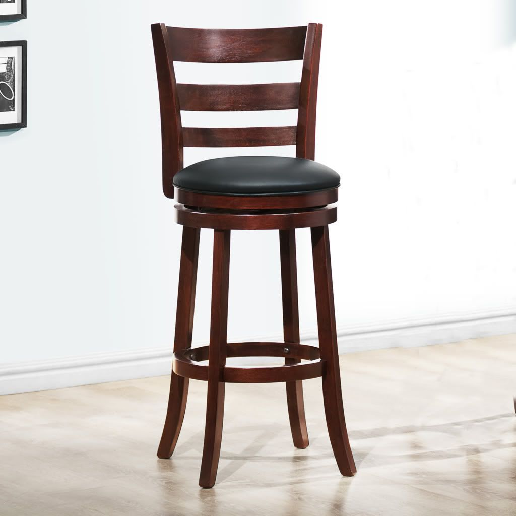 counter height chairs with back high adirondack oxford creek contemporary 29 in h swivel