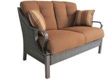 Mayfield Wicker Patio Sofa Transform Outdoor Style