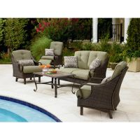 Review La-Z-Boy Outdoor Peyton 4 Pc. Seating Set - Best ...
