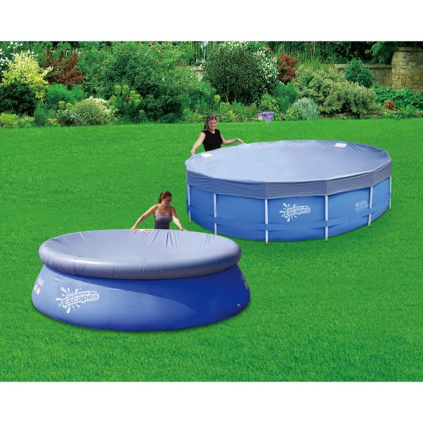 Summer Escapes Pool Cover 15 Ft Frame 16 Ring Online Shopping