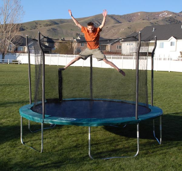 Propel Trampolines 12 Ft Trampoline With Enclosure Online Shopping & Earn