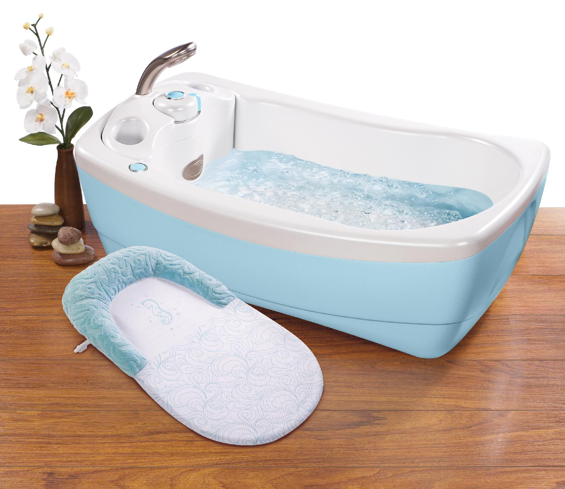 Summer Infant Lil' Luxuries Whirlpool Bubbling Spa & Shower