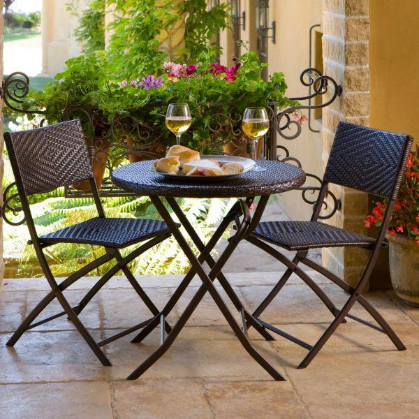 Patio Lawn & Garden Rst Outdoor 3-piece Bistro