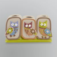 Essential Home Owl Toothbrush Holder | OWL Home Decor