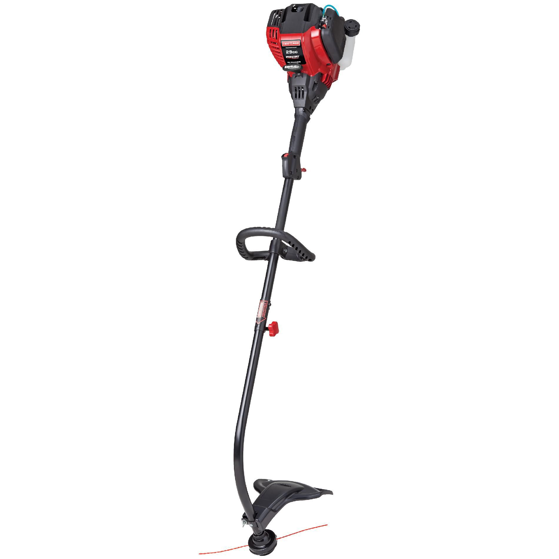 Craftsman WeedWacker™ Gas Trimmer 29cc* 4-Cycle Curved