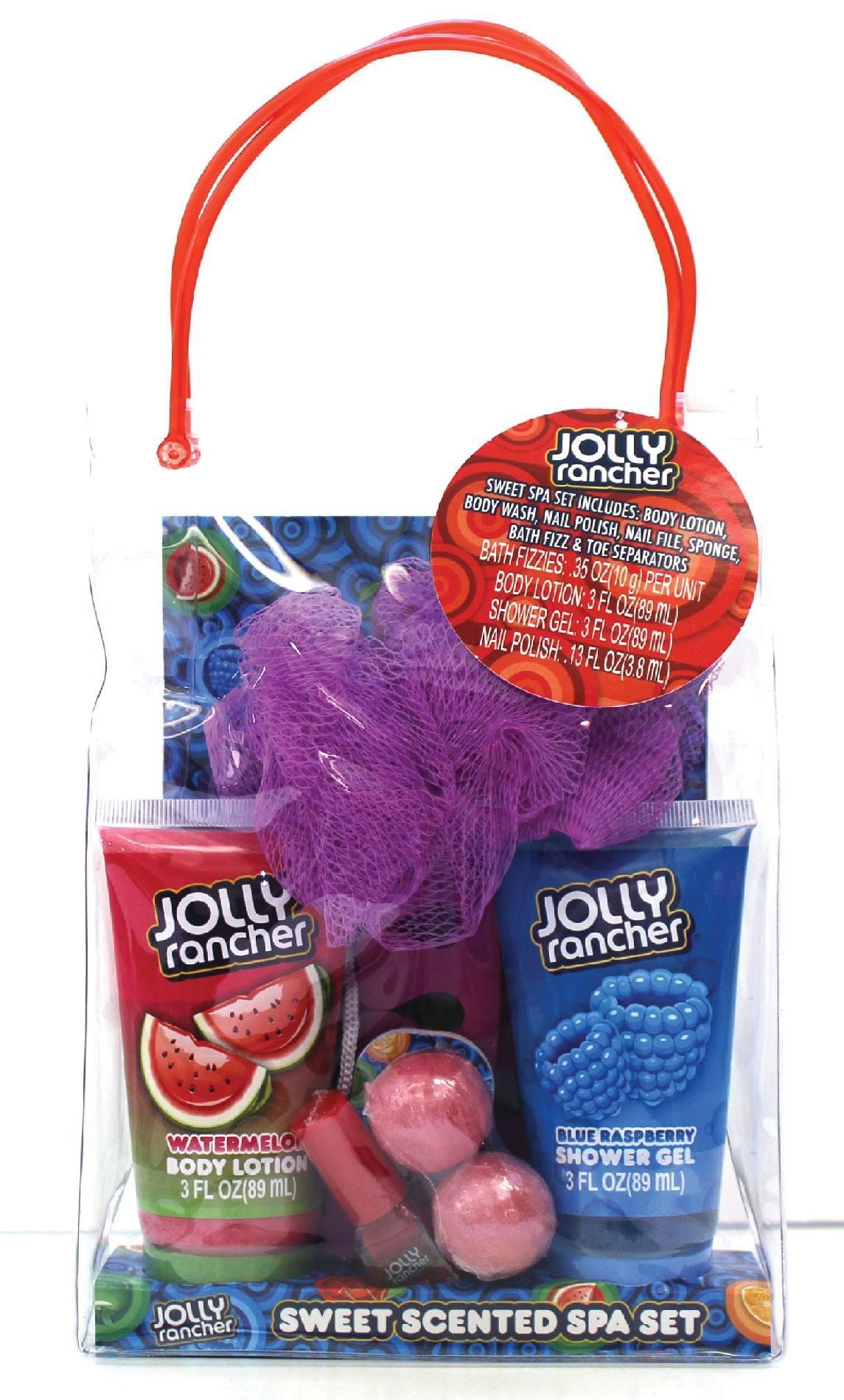 Jolly Rancher 9 Piece Spa Bag