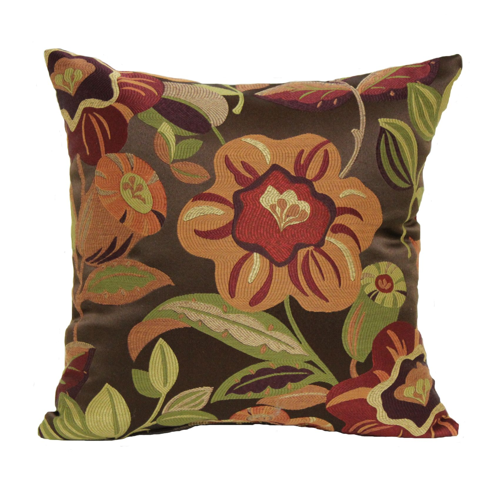 brentwood originals chair pads purple dining cushions upc 047218084880 tanille decorative pillow 18x18