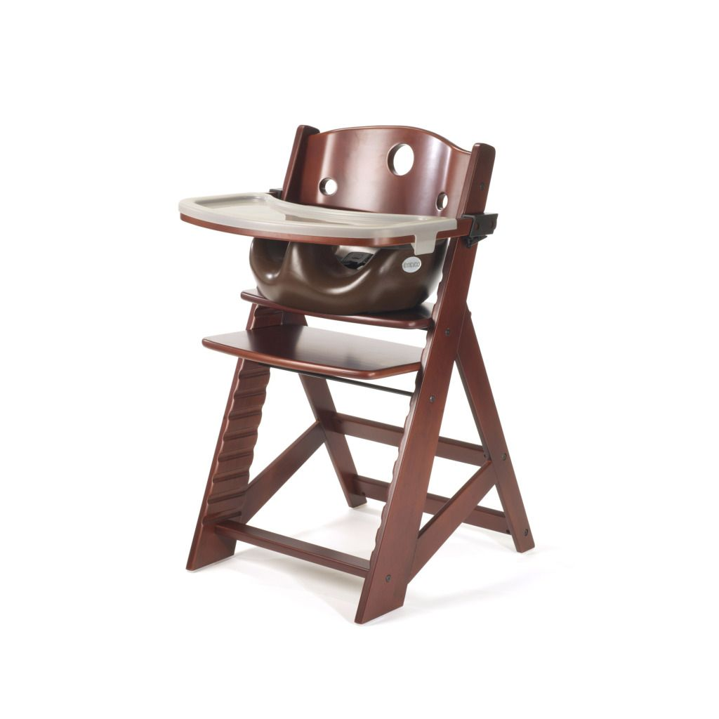 kmart baby high chairs folding cushion chair keekaroo height right mahogany with chocolate