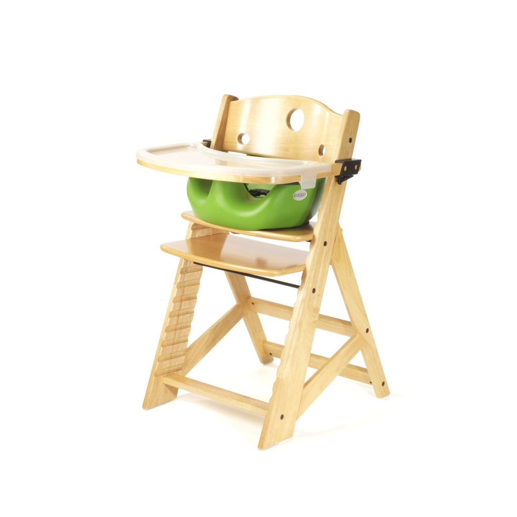 baby height chair low back chairs keekaroo right high natural with lime infant