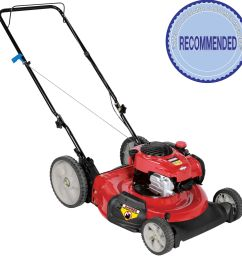 craftsman 140cc briggs stratton engine high wheel side discharge push mower [ 1900 x 1900 Pixel ]