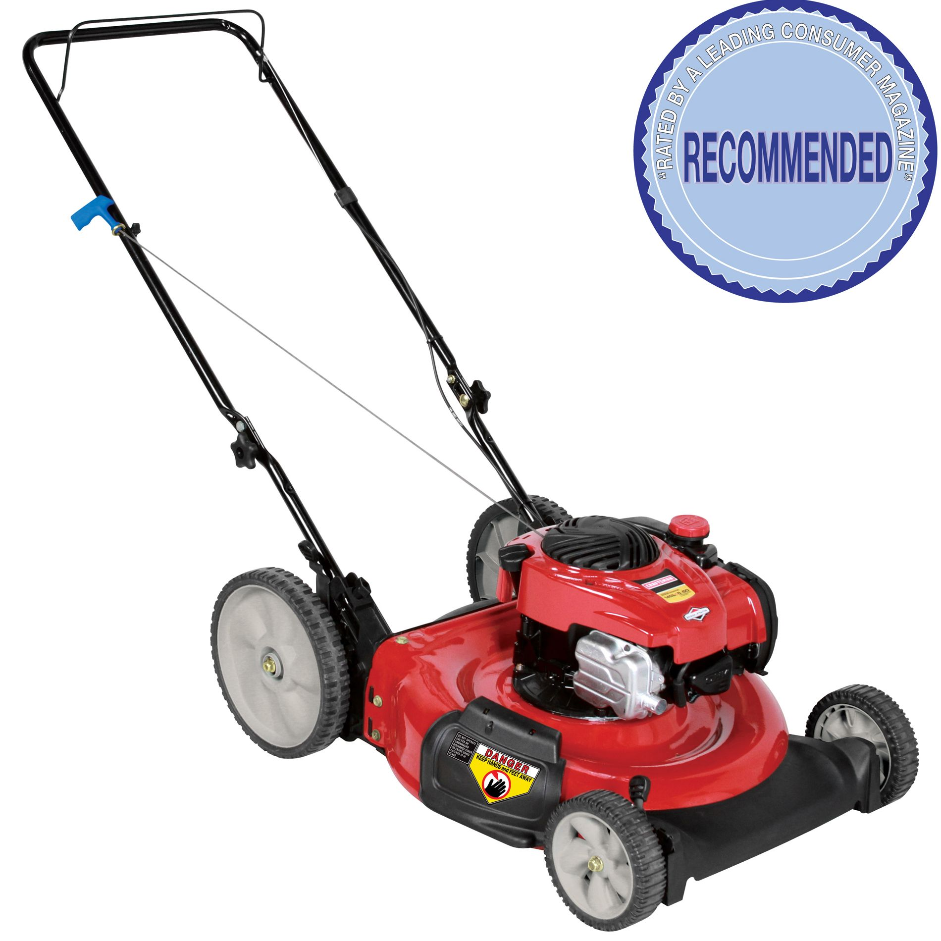 hight resolution of craftsman 140cc briggs stratton engine high wheel side discharge push mower