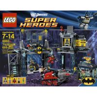 LEGO DC UNIVERSE SUPER HEROES The Batcave 6860 - Toys ...