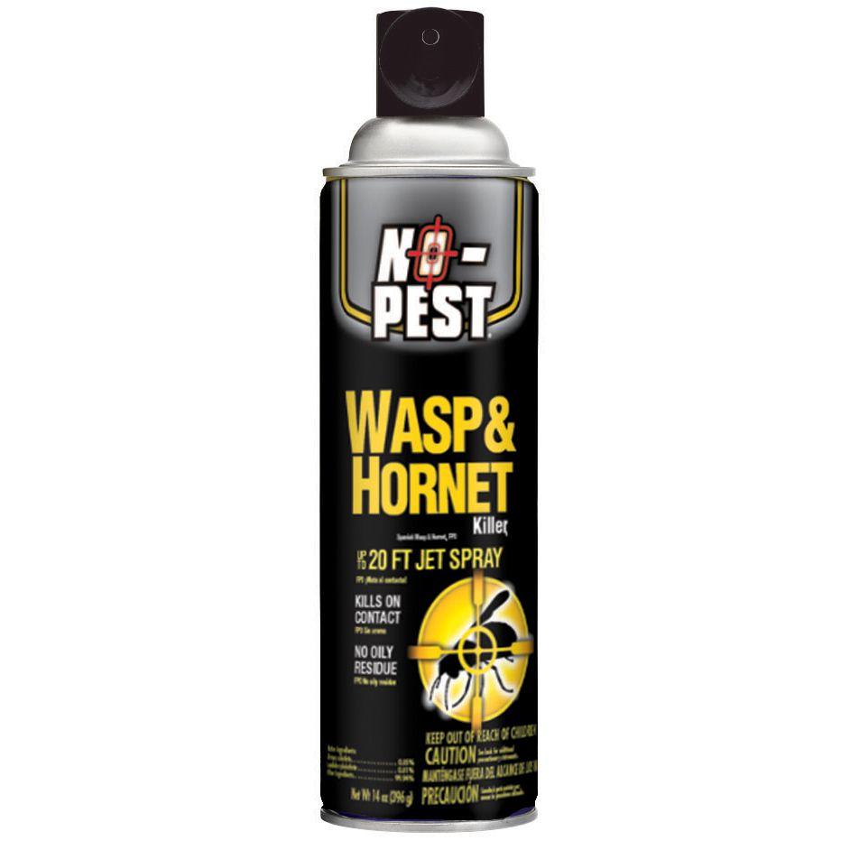 No Pest Wasp  Hornet Killer Aerosol 14 oz  Outdoor Living  Pest Control  Insect Killers