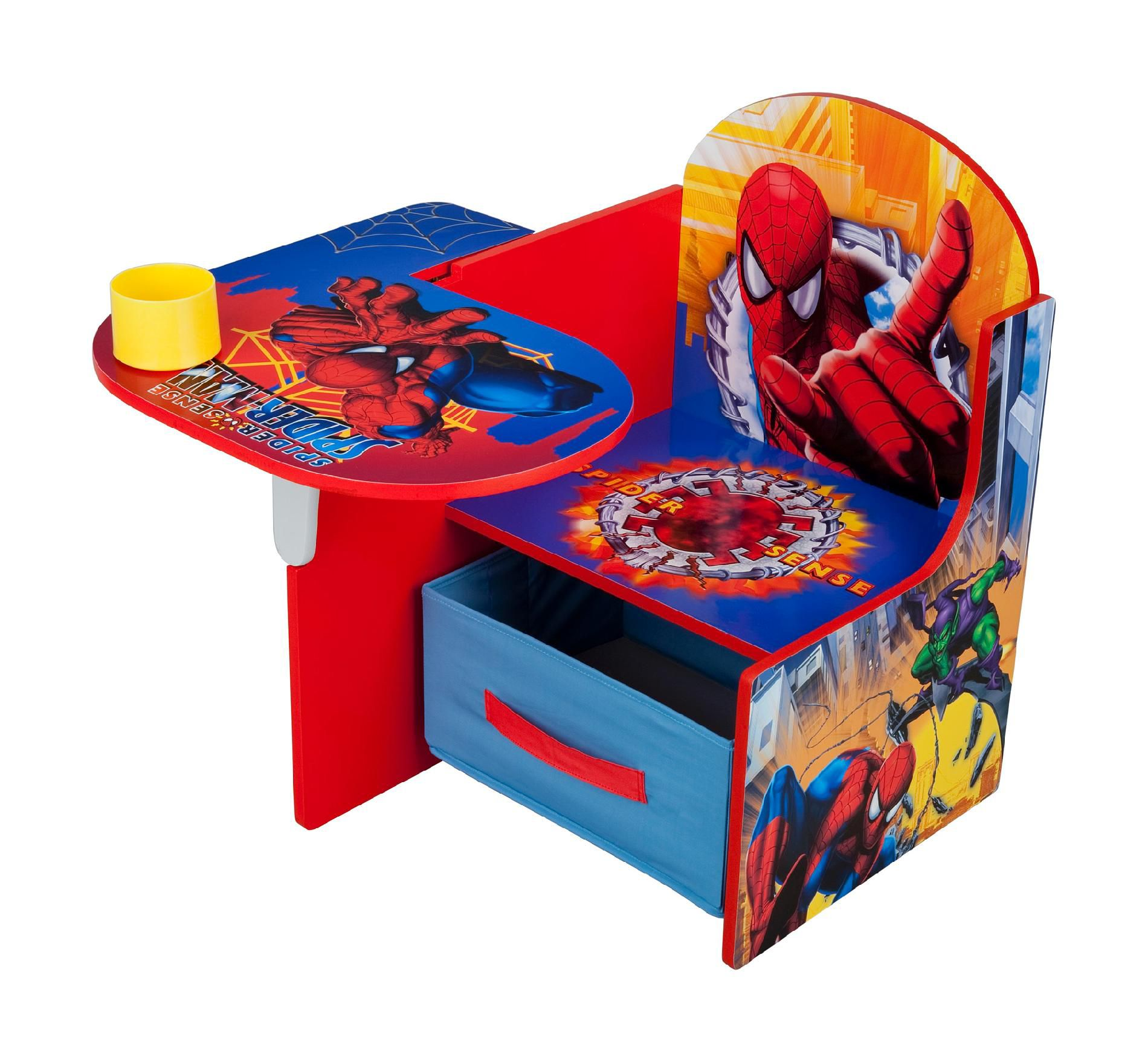 spiderman table and chairs dunelm chair cover hire chester delta children desk baby toddler