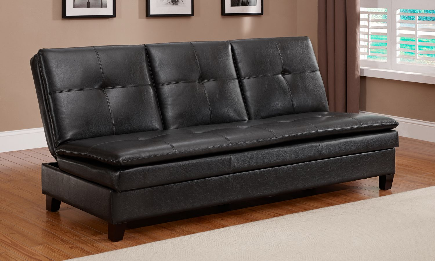 kmart jaclyn smith sleeper sofa reclining leather sectional futon – roselawnlutheran