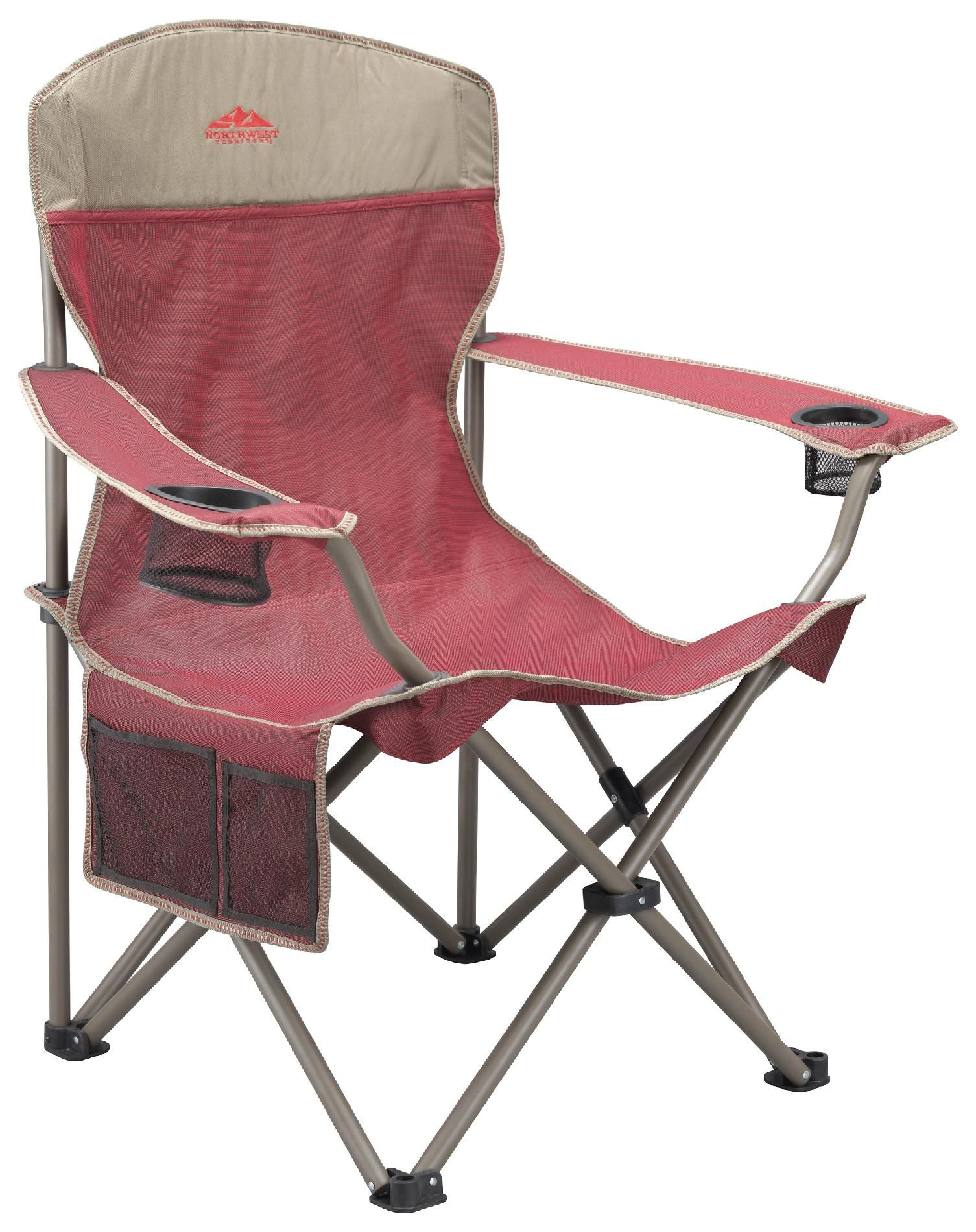 big camping chair outdoor table and sets uk northwest territory boy xl red fitness