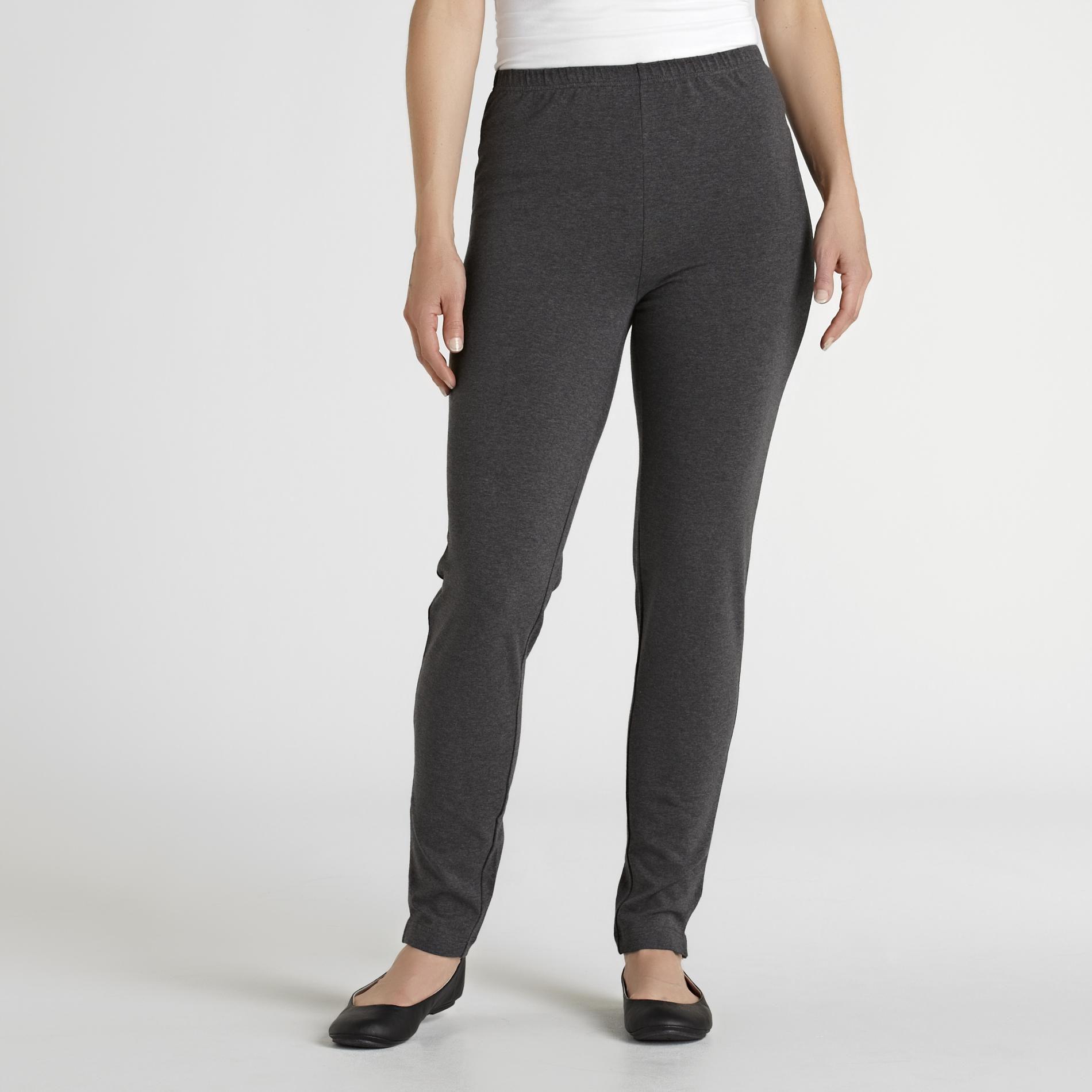 Basic Editions Women' Knit Leggings