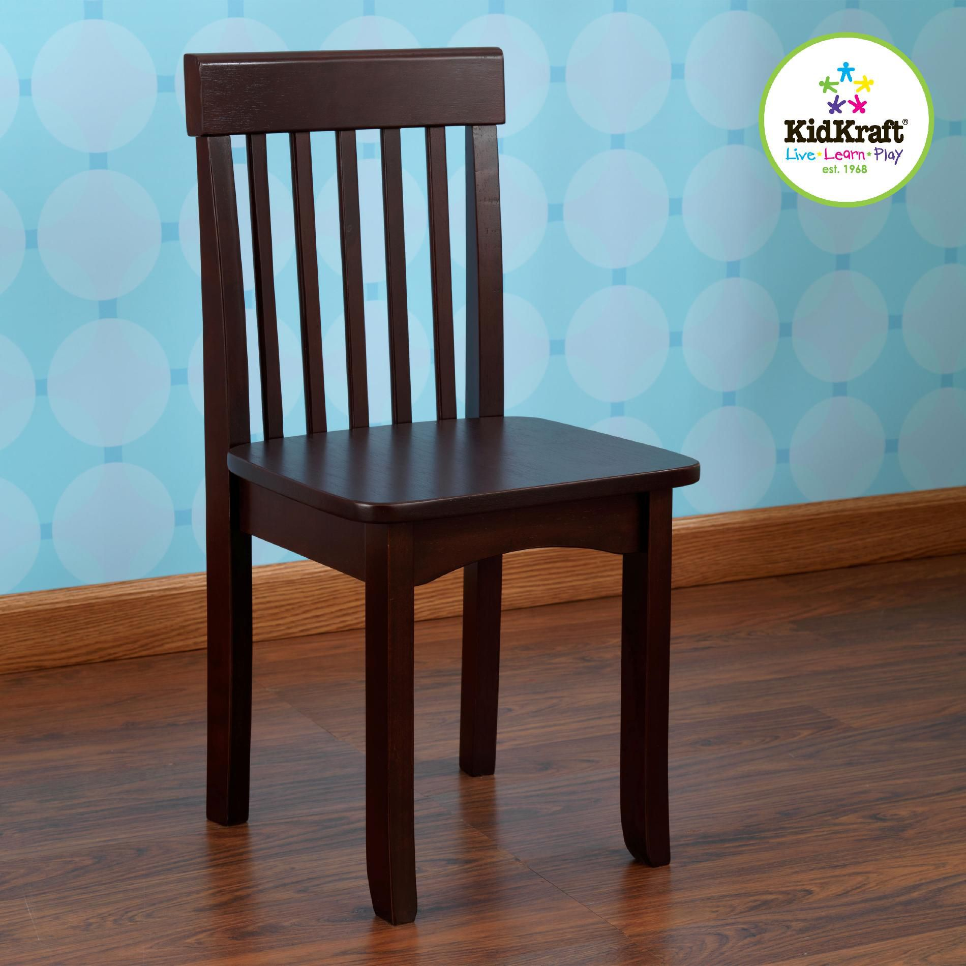 kidkraft avalon chair lawn cushions upc 706943166505 espresso