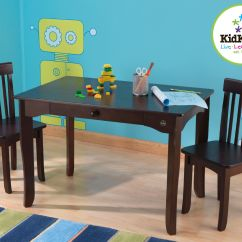 Kids Table And Chair Set Kmart Best Chairs For Nursery Kidkraft Avalon Espresso