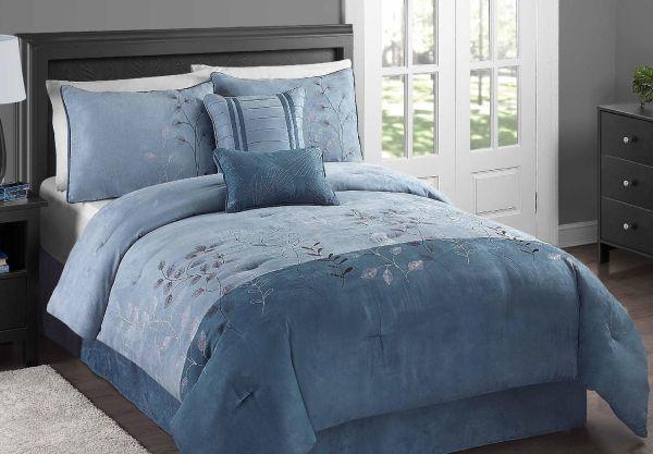 King Microsuede Comforter Set