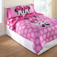 Minnie Mouse Flower Garden 4 Piece Toddler Bedding Set